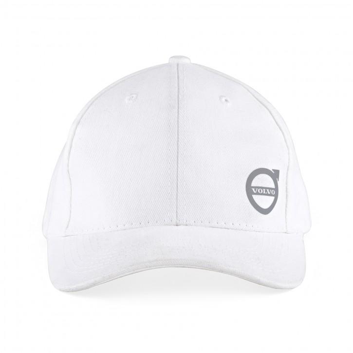 Volvo Basecap / Schirmmütze mit Volvo Logo Weiß