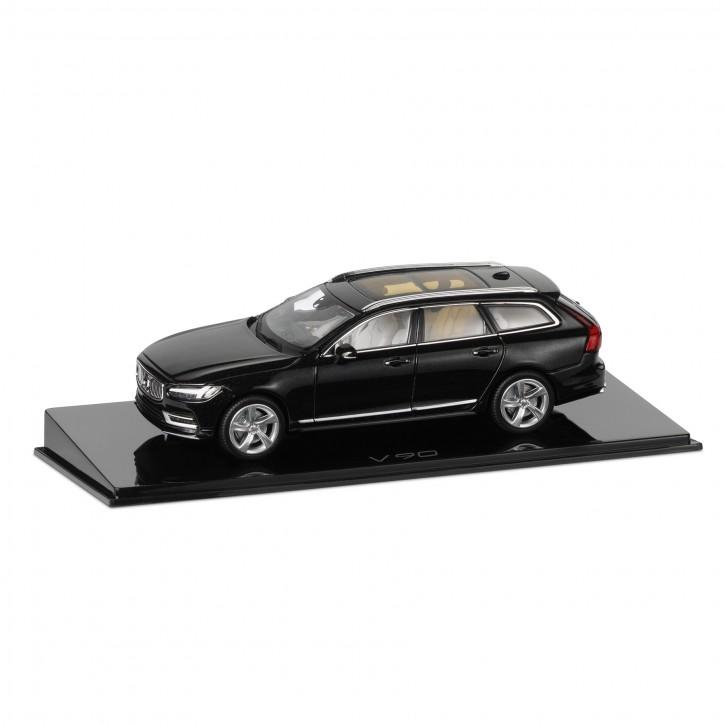 Modellauto New Volvo V90 Onyx-schwarz 1:43