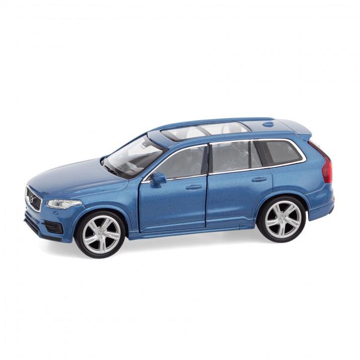 Volvo New XC90 Spielzeugauto / Toy Car blau 1:38