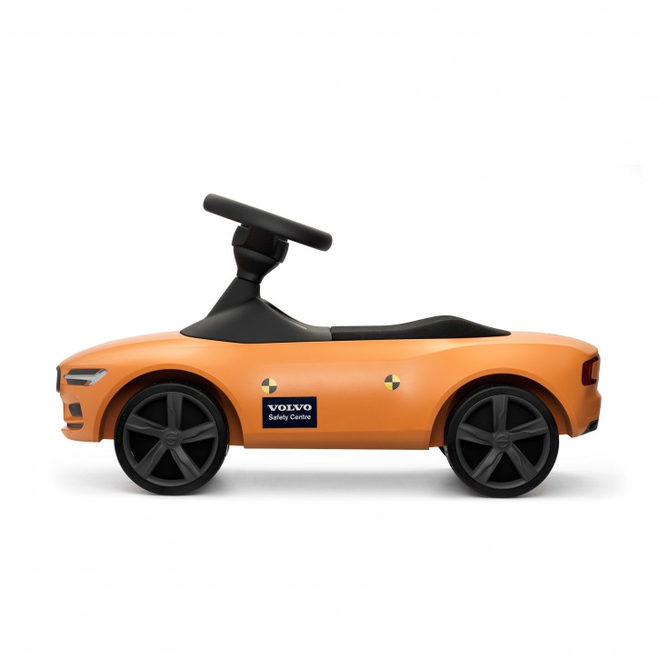 Volvo Rutscheauto Crash Test (orange)