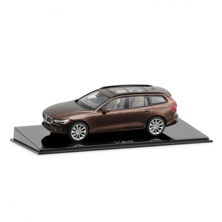 Modellauto New Volvo V60 Maple Brown