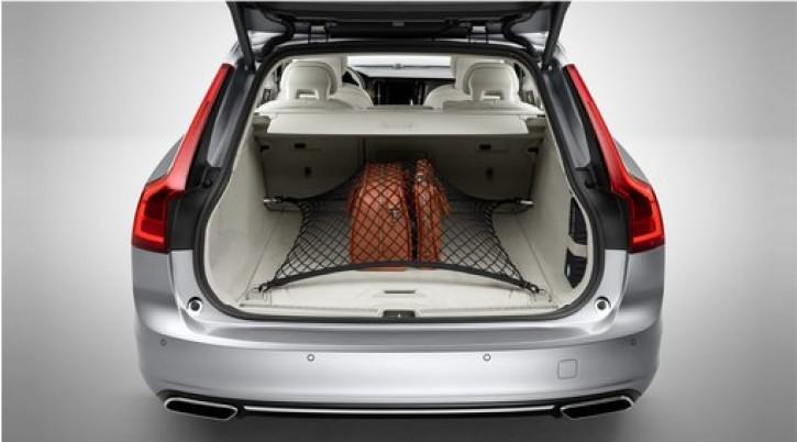 Volvo V90 II Ladegut-Sicherungsnetz Gepäckraum ab 2016 -