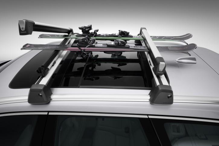 Volvo Ski- und Snowboardhalter Aluminium