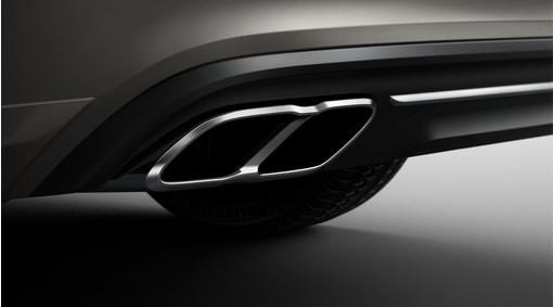 Volvo Endrohre / Blenden 4-fach