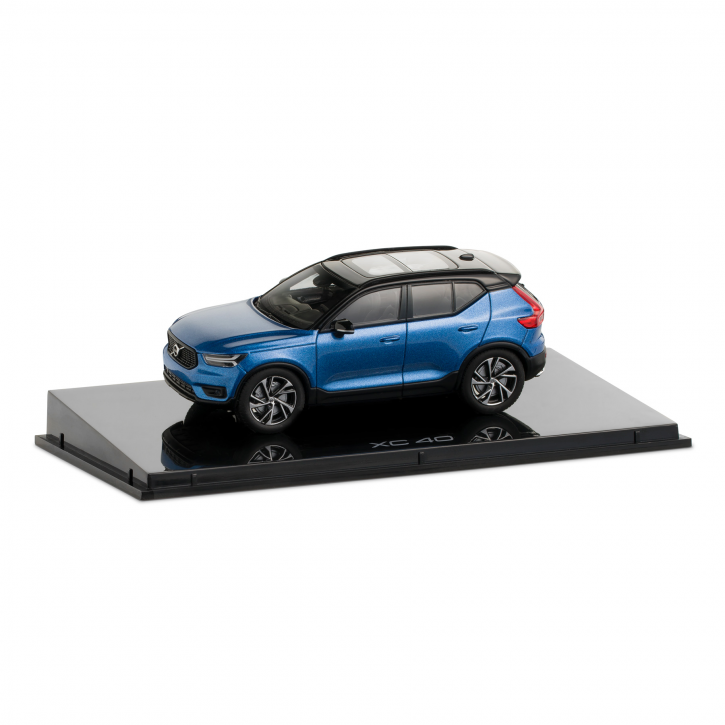 Modellauto Volvo XC40 Maßstab 1:43 Bursting Blue