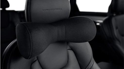 Volvo Nackenkissen Wollstoff Anthrazit