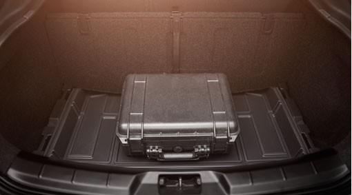 Volvo V40 Cross Country Variabler Gepäckboden / Laderaumboden auf zwei Ebenen