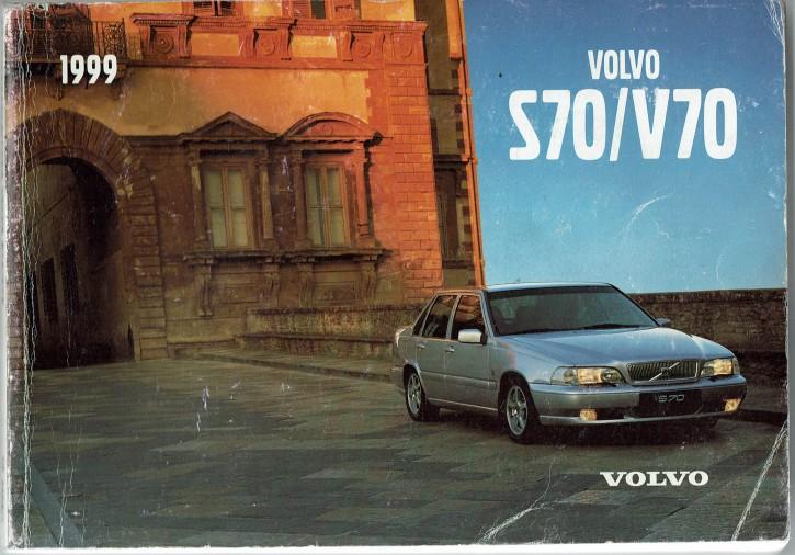 Volvo Bedienungsanleitung Volvo S70 / V70 MJ: 1999