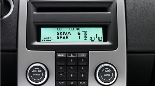 Volvo C30  CD-Wechsler 6-fach