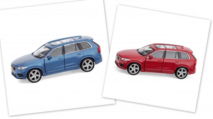 Volvo New XC90 Spielzeugauto / Toy Car blau oder rot 1:38