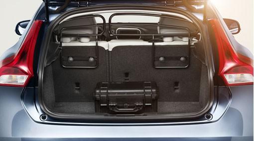 Volvo V40 Cross Country Laderaumgitter / Hundegitter Stahl