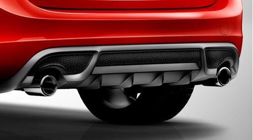Volvo S60 / V60 R-Design Heckdiffusor 2010 - 2013