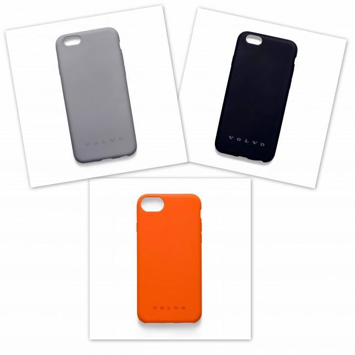 Volvo Schutzhülle / Case für iPhone 6 / 6s / 7 / 8 schwarz oder grau