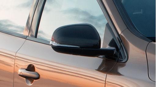 Volvo V40 Spiegelgehäuse schwarz