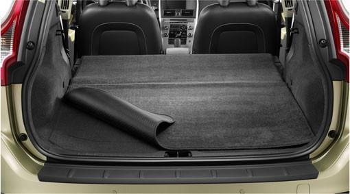 Volvo XC60 Gepäckraummatte Textil/Kunststoff wendbar / faltbar