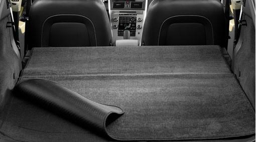 Volvo C30 Laderaummatte wendbar / klappbar Textil/Kunststoff wendbar