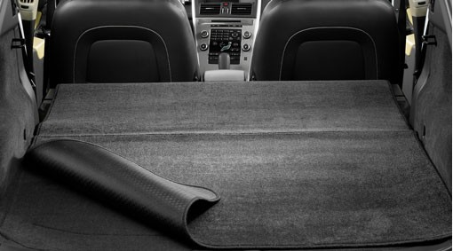 Volvo V40 Cross Country Gepäckraummatte Textil/Kunststoff wendbar / faltbar