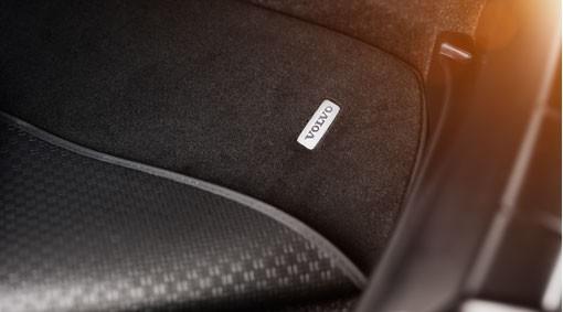 Volvo V40 Cross Country Gepäckraummatte Textil/Kunststoff wendbar