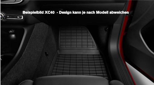 Volvo XC90 I Gummimatte für 3.Sitzreihe / 7-Sitzer - 2014
