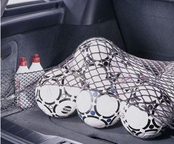 Volvo V50 Netztasche Laderaum links