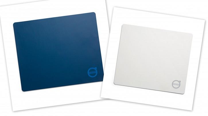 Volvo Mousepad weiß oder blau mit Iron-Mark Logo