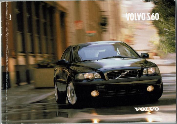 Volvo Bedienungsanleitung Volvo S60 MJ: 2002