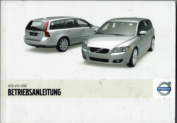 Volvo Bedienungsanleitung Volvo V50 MJ: 2005