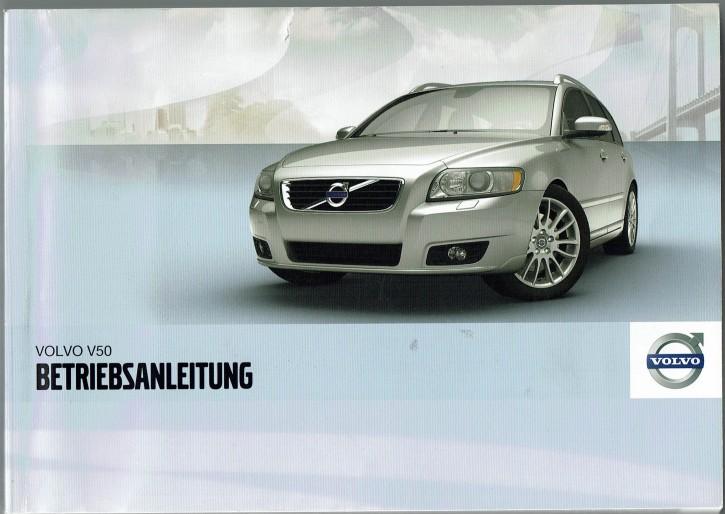 Volvo Bedienungsanleitung Volvo V50 MJ: 2012