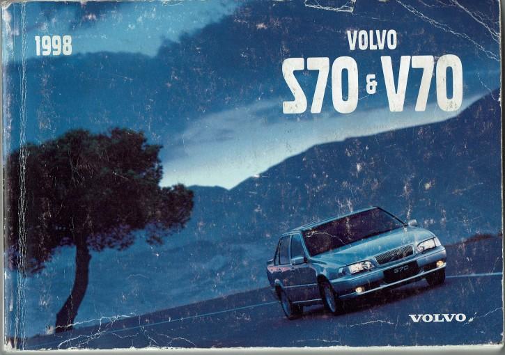 Volvo Bedienungsanleitung Volvo S70 / V70 MJ: 1998