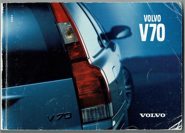 Volvo Bedienungsanleitung Volvo V70 MJ: 2001