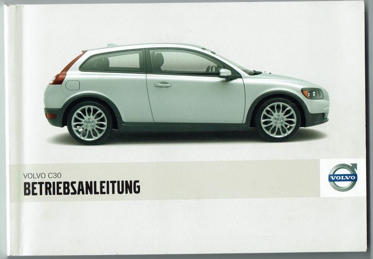 Volvo Bedienungsanleitung C30 MJ:2008
