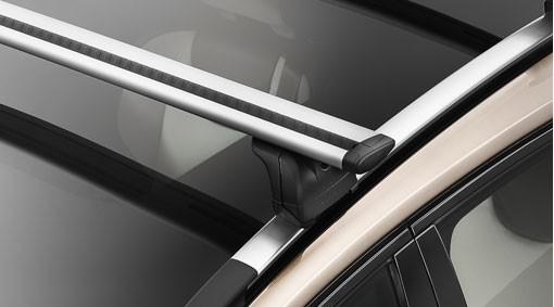 Volvo V60 Lastenträger / Grundträger mit Dachreling