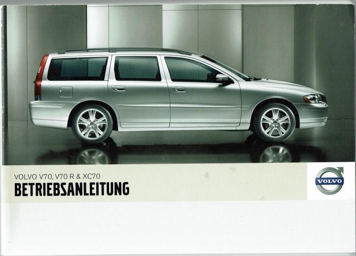 Volvo Bedienungsanleitung Volvo V70 / XC70 / V70R MJ: 2007