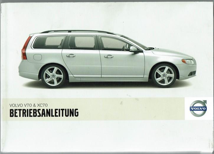 Volvo Bedienungsanleitung Volvo V70 / XC70 MJ: 2008
