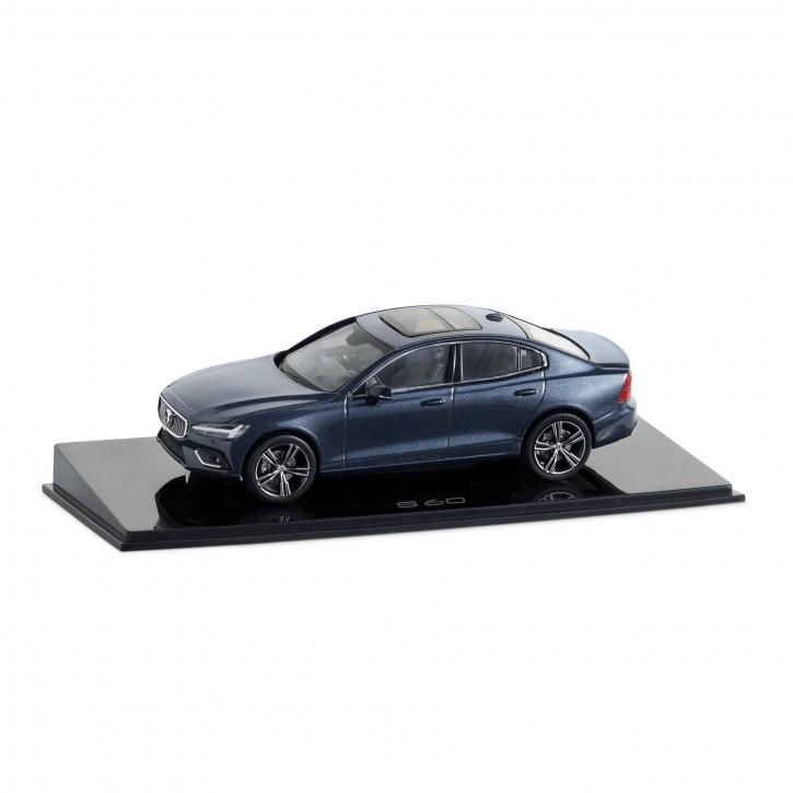 Modellauto New Volvo S60 Denim Blue