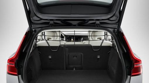 Volvo V60 Gepäckraumgitter aus Stahl ab 2018