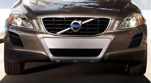 Volvo XC60 Stoßfängerschutz / Front-Unterfahrschutz - 2013