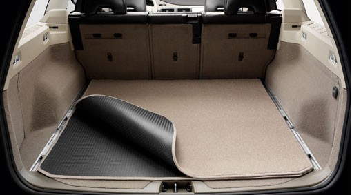 Volvo V70 III Gepäckraummatte Textil/ Gummi wendbar/faltbar 2007 -