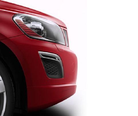 Volvo XC60 R-Design Frontdekor Silk Metall - 2013