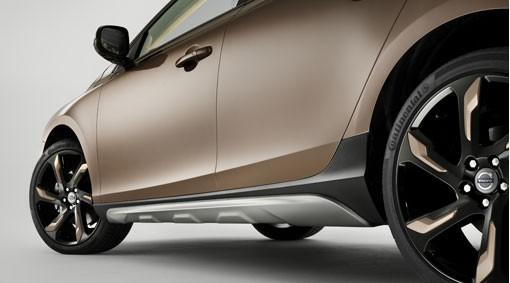Volvo V40 Cross Country Schwellerleisten / Schwellerschutz