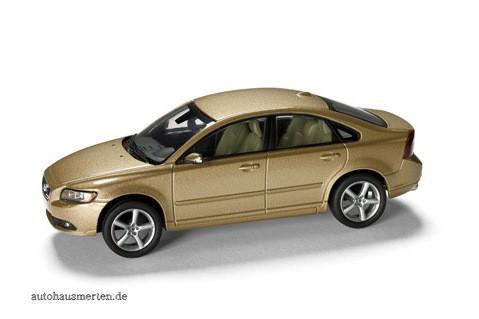 Modellauto Volvo S40 Matte Gold Metallic 1:43