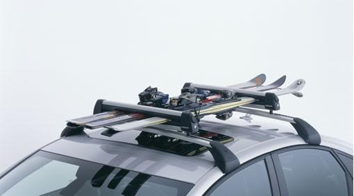 Volvo Skiträger Alumimium 6-fach