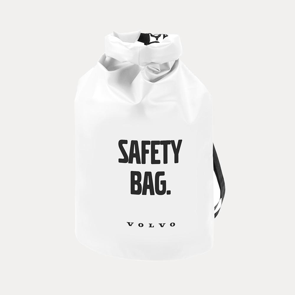 Wasserdicht Seesack in Grau oder Weiß Volvo Dry Bag