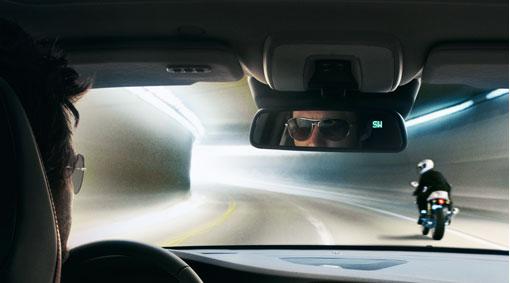 Volvo v60 innenspiegel mit abblendautomatik und kompass for Spiegel xc90