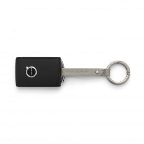 Volvo Schlüsselanhänger Leder