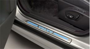 Volvo V70 III Einstiegsleisten vorn beleuchtet 2008 -