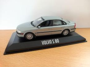Modellauto Volvo S80 I Eisblau-Metallic 1:43