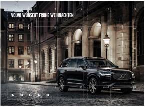 Volvo XC90 Adventskalender mit Sarotti Schokolade gefüllt